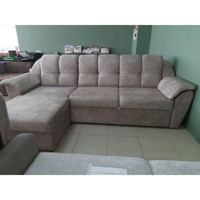 Угловой диван Матео с оттоманкой