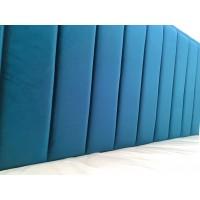 Кровать с мягким изголовьем 1600*2000 (любой дизайн)
