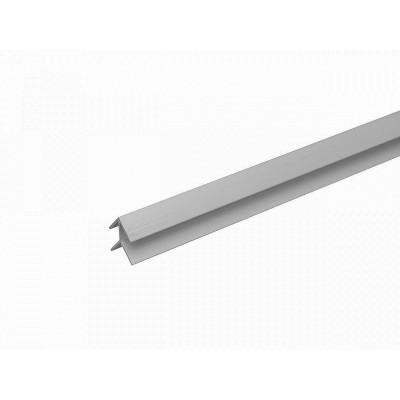 .Планка угловая для стеновой панели 6 мм мет