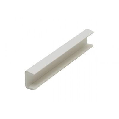Заглушка для цоколя 100 мм Белый №2