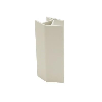 Угол 135 для цоколя 100 мм Белый №2
