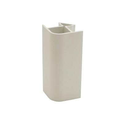 Угол 90 для цоколя 100 мм Белый №2