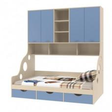 Кровать (120) с антресолью Дельта - 21.01