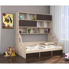 Кровать (120) с антресолью Дельта - 21.02