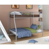 Двухъярусная кровать Гранада - 2 (черный, серый, бежевый, коричневый)