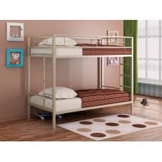 Двухъярусная кровать Севилья (черный, серый, бежевый, коричневый)