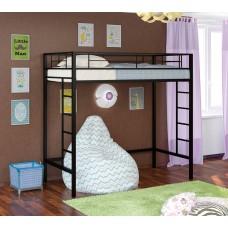 Кровать-чердак Севилья - 1-1 (черный, серый, бежевый, коричневый)
