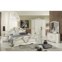 """Комплект мебели для спальни """"Грета золото"""""""