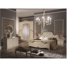 Кровать с тканью Е50  (сп. место 160*200) 182*212*121 «Елена бежевый»