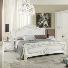 """Кровать ЕВ60 160*200 """"Европа белое серебро"""""""