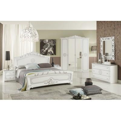 Комплект мебели для спальни Европа серебро